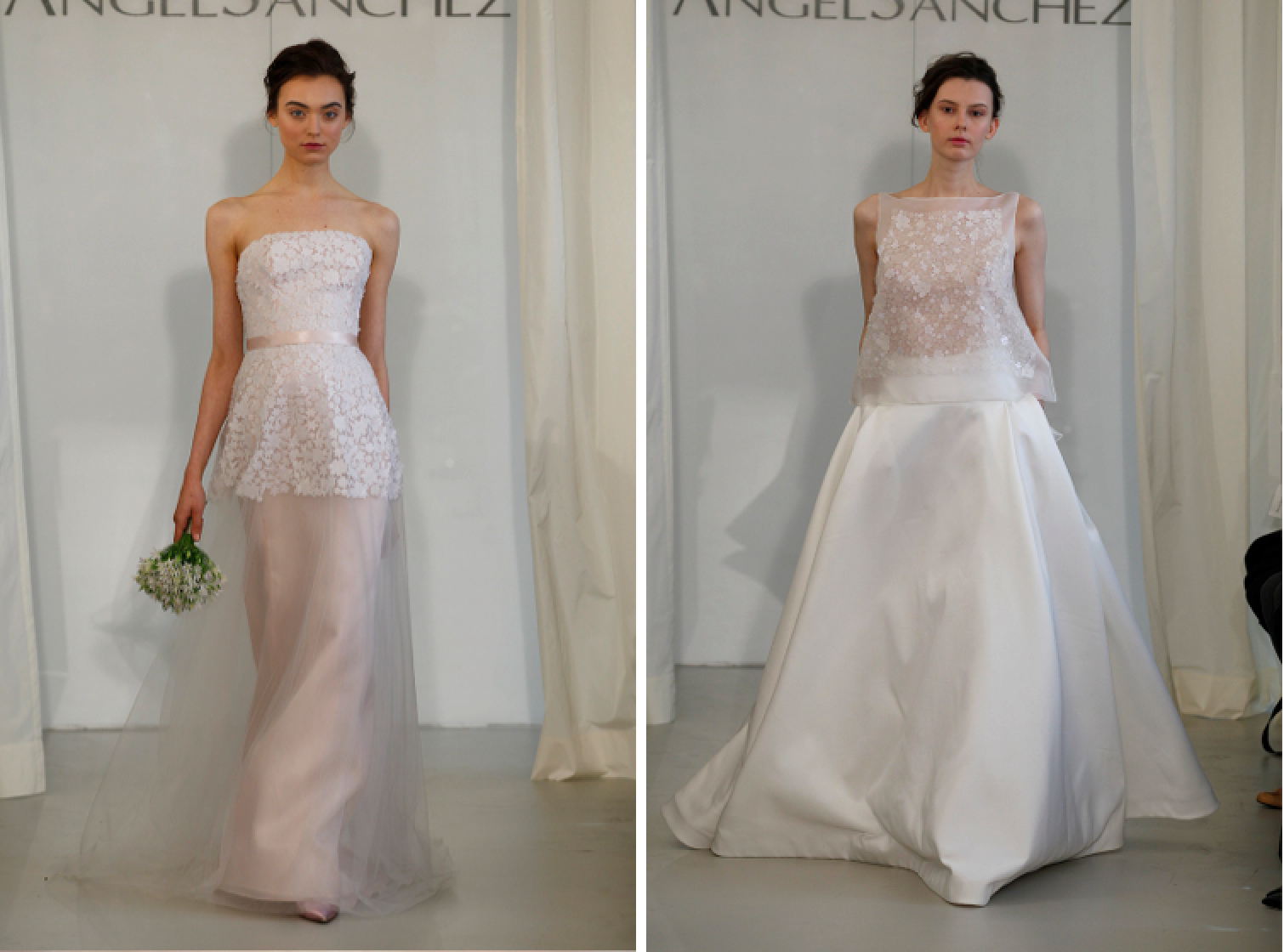 Wedding Dresses, Romantic Wedding Dresses, Fashion, Modern Weddings, Angel sanchez