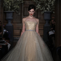 Wedding Dresses, Ball Gown Wedding Dresses, Fashion, gold, Romona Keveza Couture