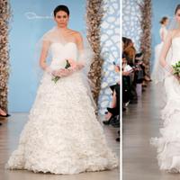 Wedding Dresses, Ruffled Wedding Dresses, Fashion, Oscar de la renta