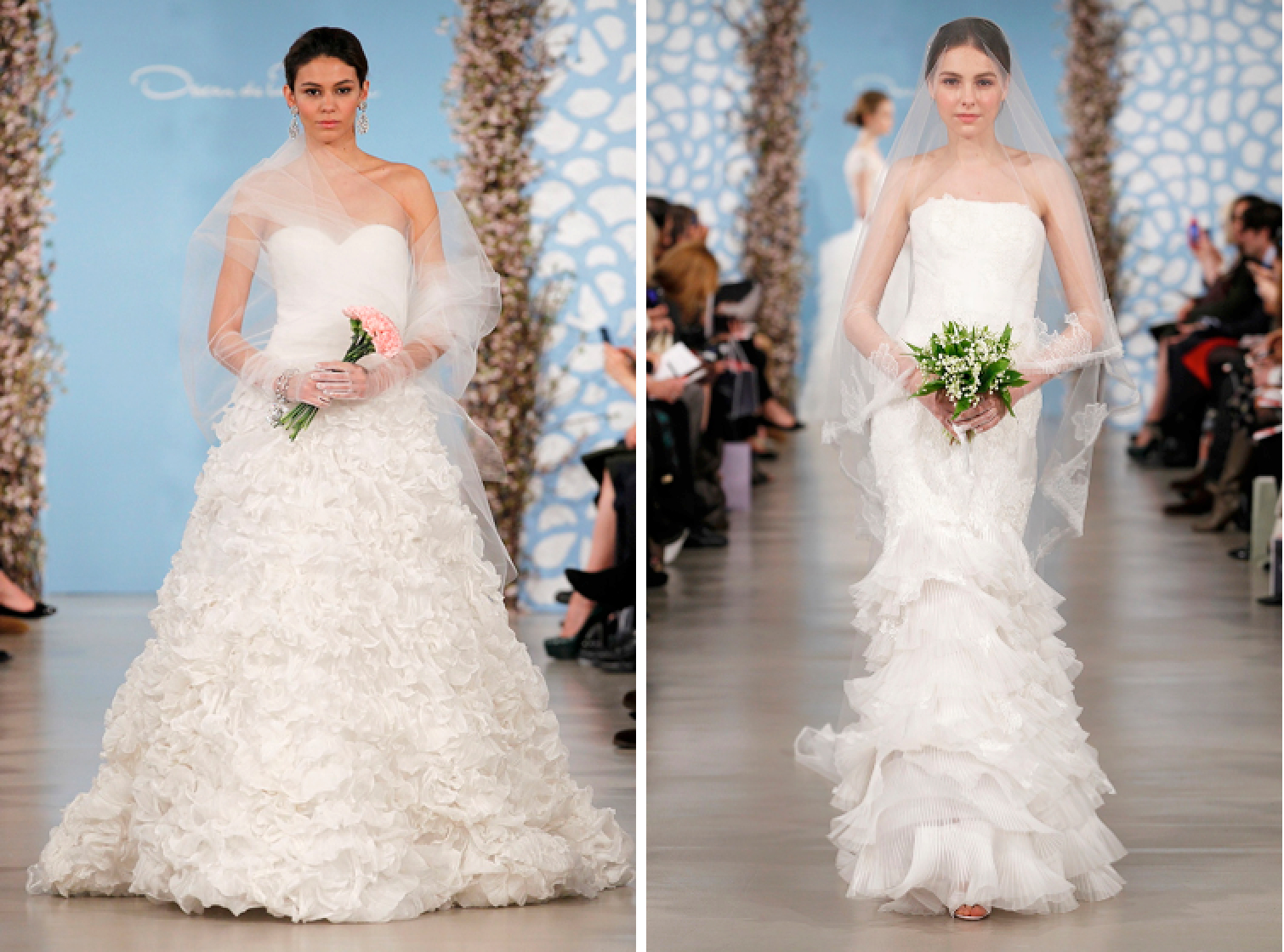 Wedding Dresses, Ruffled Wedding Dresses, Fashion, Oscar de la renta