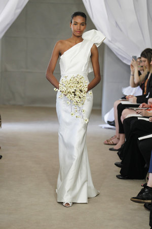 Wedding Dresses, One-Shoulder Wedding Dresses, Romantic Wedding Dresses, Hollywood Glam Wedding Dresses, Fashion, Glam Weddings, Carolina herrera