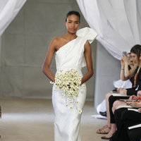 Wedding Dresses, One-Shoulder Wedding Dresses, Romantic Wedding Dresses, Hollywood Glam Wedding Dresses, Fashion, Glam Weddings, Carolina herrera