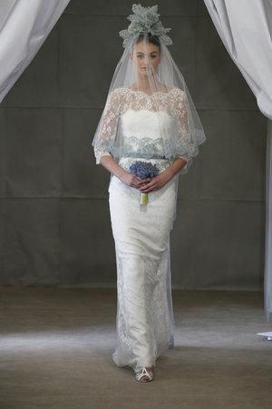 Wedding Dresses, Illusion Neckline Wedding Dresses, Lace Wedding Dresses, Romantic Wedding Dresses, Fashion, Vintage Weddings, Carolina herrera, Wedding Dresses with Sleeves