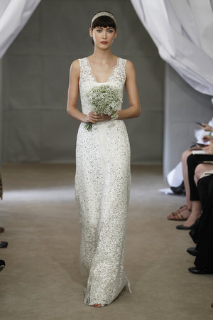 Wedding Dresses, Lace Wedding Dresses, Romantic Wedding Dresses, Fashion, Garden Weddings, V-neck Wedding Dresses, Carolina herrera