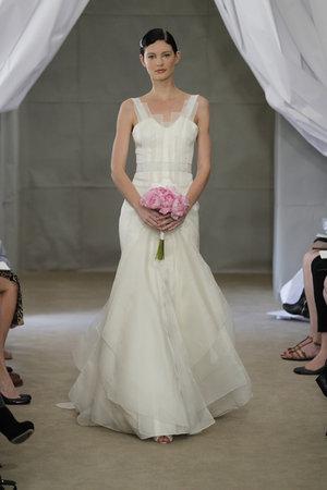 Wedding Dresses, Mermaid Wedding Dresses, Romantic Wedding Dresses, Fashion, Garden Weddings, V-neck Wedding Dresses, Carolina herrera