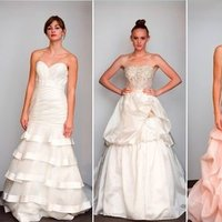 Wedding Dresses, Sweetheart Wedding Dresses, A-line Wedding Dresses, Ruffled Wedding Dresses, Fashion, Pink Wedding Dresses