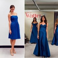 Bridesmaid Dresses, Fashion, blue bridesmaid dresses