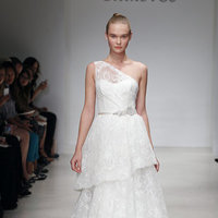 Wedding Dresses, One-Shoulder Wedding Dresses, Ruffled Wedding Dresses, Fashion