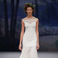 Wedding Dresses, Illusion Neckline Wedding Dresses, Fashion