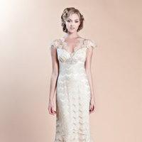 Wedding Dresses, Lace Wedding Dresses, Romantic Wedding Dresses, Fashion, Spring Weddings, Boho Chic Weddings, Garden Weddings, V-neck Wedding Dresses, Claire pettibone