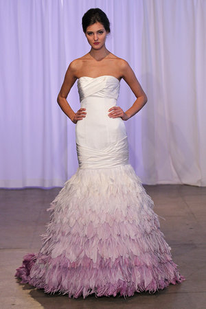 Wedding Dresses, Sweetheart Wedding Dresses, Mermaid Wedding Dresses, Hollywood Glam Wedding Dresses, Fashion, pink, City Weddings, Glam Weddings, Modern Weddings, Kelly Faetanini