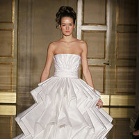 Wedding Dresses, Ball Gown Wedding Dresses, Fashion, white, City Weddings, Modern Weddings, Strapless Wedding Dresses, Douglas hannant