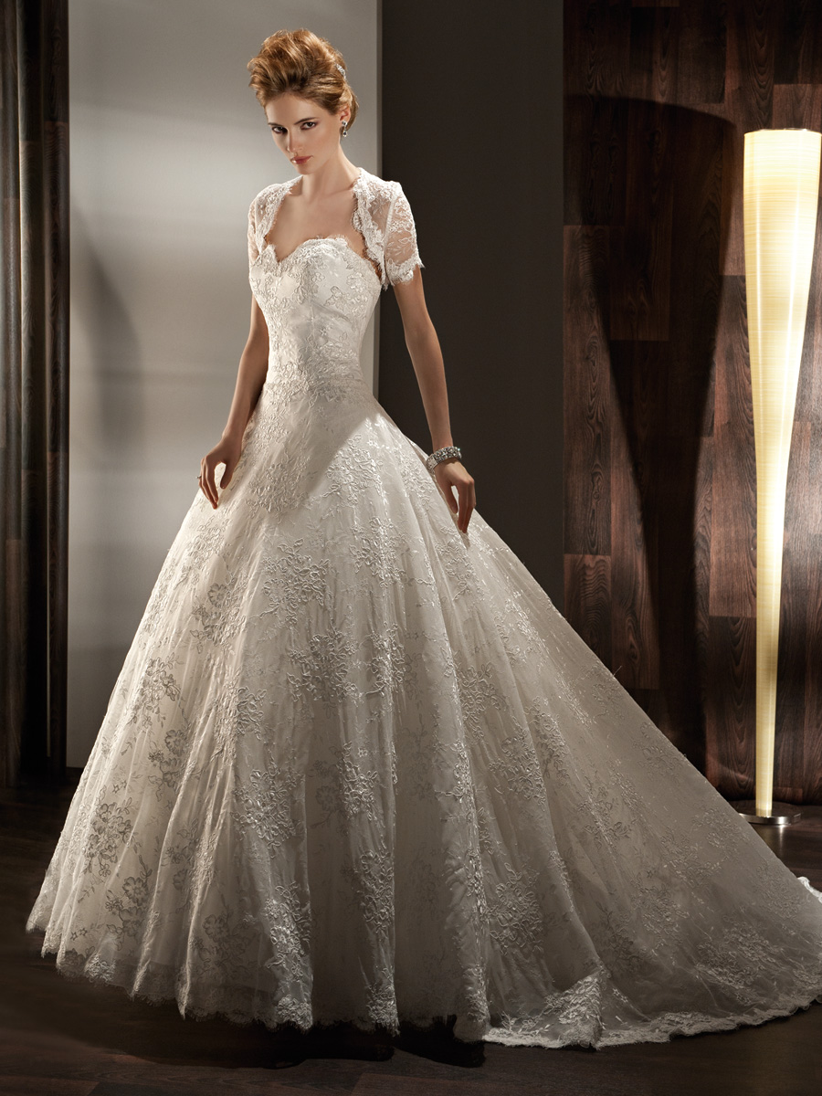 Wedding Dresses, Sweetheart Wedding Dresses, Ball Gown Wedding Dresses, Lace Wedding Dresses, Fashion, Boleros