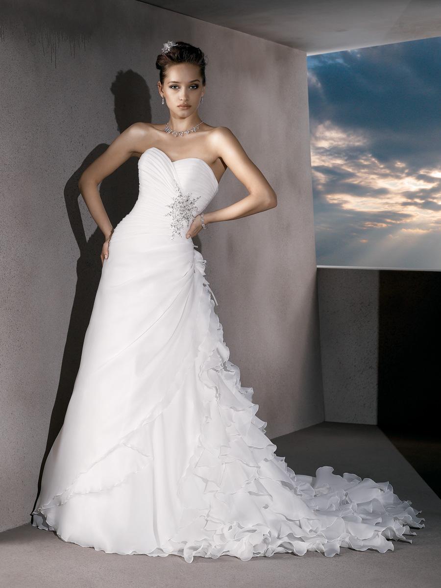 Wedding Dresses, Sweetheart Wedding Dresses, Ruffled Wedding Dresses, Fashion, ruched wedding dresses