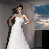 Wedding Dresses, Sweetheart Wedding Dresses, Ruffled Wedding Dresses, Fashion, ruched wedding dresses