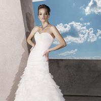 Wedding Dresses, Sweetheart Wedding Dresses, Mermaid Wedding Dresses, Ruffled Wedding Dresses, Fashion, organza wedding dresses