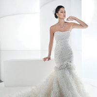 Wedding Dresses, Mermaid Wedding Dresses, Ruffled Wedding Dresses, Hollywood Glam Wedding Dresses, Fashion, Glam Weddings, Modern Weddings, Demetrios