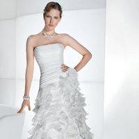 Wedding Dresses, Ruffled Wedding Dresses, Hollywood Glam Wedding Dresses, Fashion, Glam Weddings, Modern Weddings, Demetrios