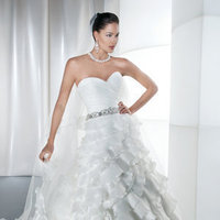 Wedding Dresses, Sweetheart Wedding Dresses, A-line Wedding Dresses, Ruffled Wedding Dresses, Fashion, Demetrios