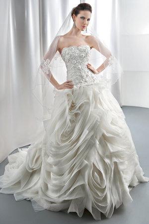 Wedding Dresses, Ball Gown Wedding Dresses, Ruffled Wedding Dresses, Fashion, Glam Weddings, Modern Weddings, Demetrios