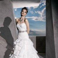 Wedding Dresses, Sweetheart Wedding Dresses, Ruffled Wedding Dresses, Hollywood Glam Wedding Dresses, Fashion, Glam Weddings, Demetrios