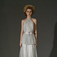 Wedding Dresses, Ruffled Wedding Dresses, Fashion, halter wedding dresses