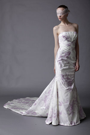 Wedding Dresses, Mermaid Wedding Dresses, Fashion, purple, Garden Weddings, Modern Weddings, Strapless Wedding Dresses, Douglas hannant