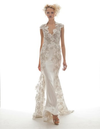 Wedding Dresses, Lace Wedding Dresses, Fashion, V-neck Wedding Dresses