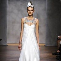 Wedding Dresses, Illusion Neckline Wedding Dresses, Fashion, Monique lhuillier