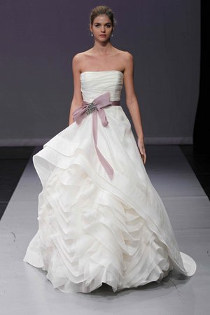 Wedding Dresses, Ball Gown Wedding Dresses, Ruffled Wedding Dresses, Romantic Wedding Dresses, Fashion, purple, Modern Weddings, Rivini