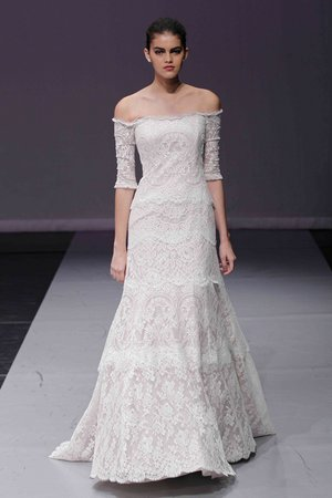 Wedding Dresses, Lace Wedding Dresses, Romantic Wedding Dresses, Vintage Wedding Dresses, Fashion, Spring Weddings, Rivini, Wedding Dresses with Sleeves, Off the Shoulder Wedding Dresses