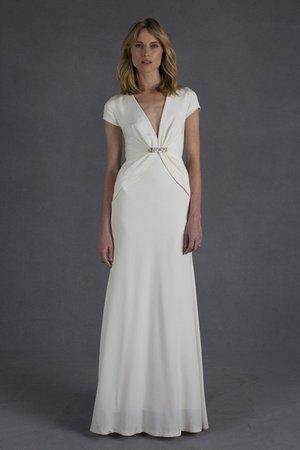 Wedding Dresses, Hollywood Glam Wedding Dresses, Fashion, City Weddings, Glam Weddings, Modern Weddings, V-neck Wedding Dresses, Nicole miller