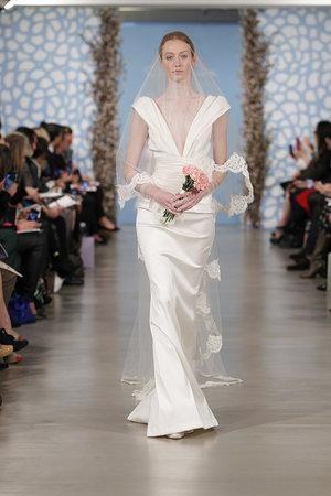 Wedding Dresses, Vintage Wedding Dresses, Hollywood Glam Wedding Dresses, Fashion, Glam Weddings, Vintage Weddings, V-neck Wedding Dresses, Oscar de la renta, Art Deco Weddings