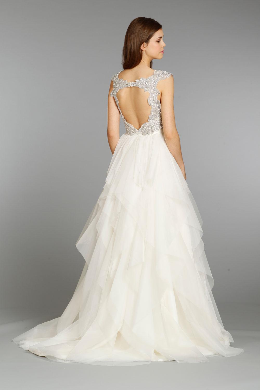 Wedding Dresses, A-line Wedding Dresses, Ruffled Wedding Dresses, Romantic Wedding Dresses, Fashion, Hayley Paige