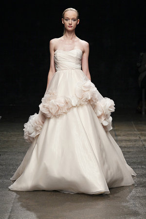Wedding Dresses, Romantic Wedding Dresses, Fashion, pink, Spring Weddings, Hayley Paige