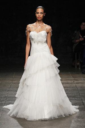 Wedding Dresses, Ruffled Wedding Dresses, Hollywood Glam Wedding Dresses, Fashion, Glam Weddings, Modern Weddings, Hayley Paige
