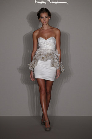 Wedding Dresses, Sweetheart Wedding Dresses, Fashion, white, Short Wedding Dresses, Hayley Paige