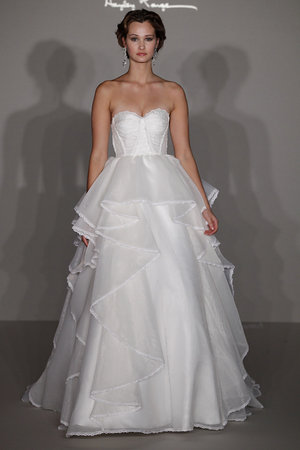 Wedding Dresses, Ruffled Wedding Dresses, Fashion, white, Hayley Paige