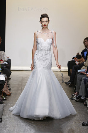 Wedding Dresses, Illusion Neckline Wedding Dresses, Mermaid Wedding Dresses, Hollywood Glam Wedding Dresses, Fashion, Glam Weddings, Ines di santo