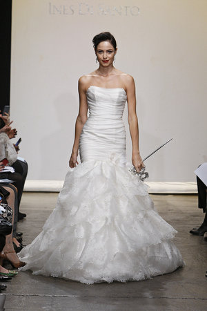 Wedding Dresses, Mermaid Wedding Dresses, Ruffled Wedding Dresses, Hollywood Glam Wedding Dresses, Fashion, Glam Weddings, Ines di santo