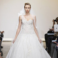 Wedding Dresses, One-Shoulder Wedding Dresses, Ball Gown Wedding Dresses, Hollywood Glam Wedding Dresses, Fashion, Glam Weddings, Ines di santo