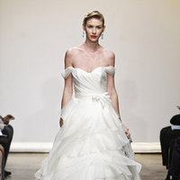 Wedding Dresses, A-line Wedding Dresses, Ruffled Wedding Dresses, Romantic Wedding Dresses, Fashion, Classic Weddings, Ines di santo