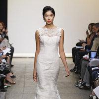 Wedding Dresses, Illusion Neckline Wedding Dresses, Mermaid Wedding Dresses, Lace Wedding Dresses, Romantic Wedding Dresses, Fashion, Spring Weddings, Garden Weddings, Ines di santo