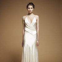 Fashion, V-neck Wedding Dresses, Jenny packham