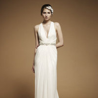 Fashion, V-neck Wedding Dresses, Jenny packham