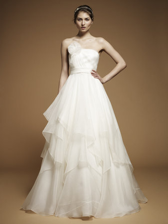 Ruffled Wedding Dresses, Fashion, Jenny packham