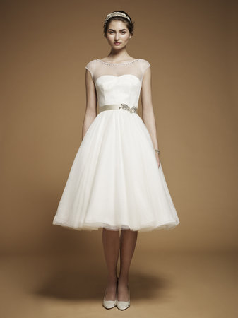 Fashion, Jenny packham, Short Wedding Dresses