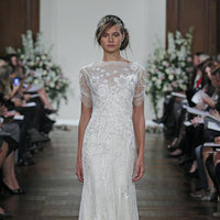 Wedding Dresses, Illusion Neckline Wedding Dresses, Lace Wedding Dresses, Romantic Wedding Dresses, Vintage Wedding Dresses, Fashion, Vintage Weddings, Jenny packham, Art Deco Weddings
