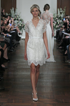 Wedding Dresses, Lace Wedding Dresses, Vintage Wedding Dresses, Hollywood Glam Wedding Dresses, Fashion, Glam Weddings, Vintage Weddings, V-neck Wedding Dresses, Jenny packham, Short Wedding Dresses