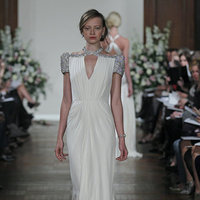 Wedding Dresses, Vintage Wedding Dresses, Hollywood Glam Wedding Dresses, Fashion, Glam Weddings, Vintage Weddings, V-neck Wedding Dresses, Jenny packham, Art Deco Weddings